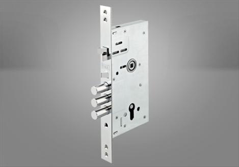 252-RA Çelik Kapı Gömme Silindir Modeli - Kale Kilit