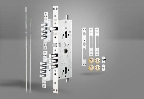 256 Çelik Kapı Gömme Silindir Modeli - Kale Kilit