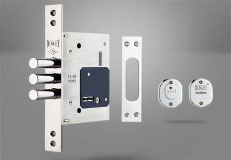 257-L Çelik Kapı Gömme Silindir Modeli - Kale Kilit