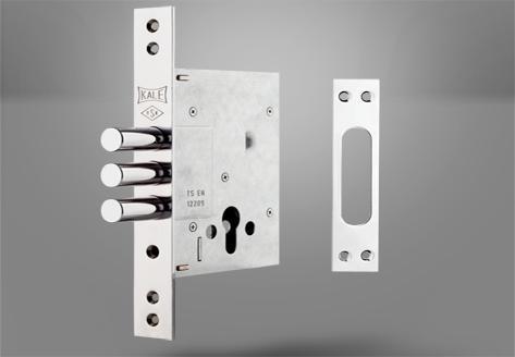 257 Çelik Kapı Gömme Silindir Modeli - Kale Kilit