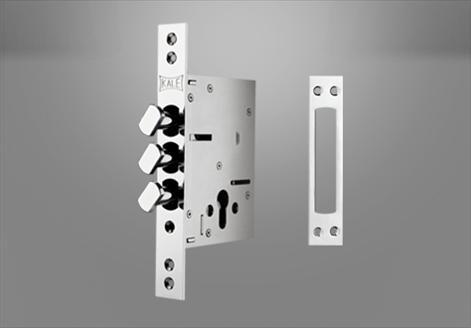 287-D Çelik Kapı Gömme Silindir Modeli - Kale Kilit