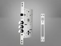 282-RD Çelik Kapı Gömme Silindir Modeli - Kale Kilit